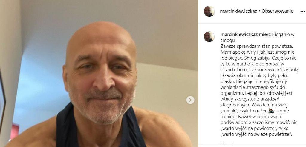 Kazimierz Marcinkiewicz o bieganiu w smogu