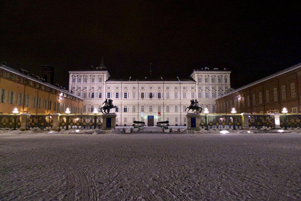 Piazza Castello w Turynie