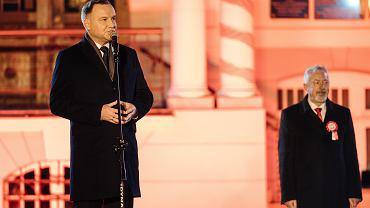 Andrzej Duda podczas 100. rocznicy zaślubin Polski z morzem odniósł się do sprawy trzynastej emerytury.