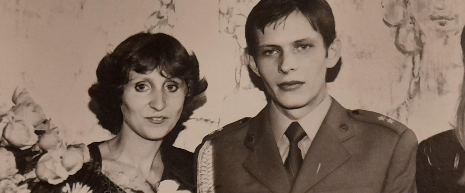 Małgosia i Andrzej Pacholec (fot. Archiwum prywatne)