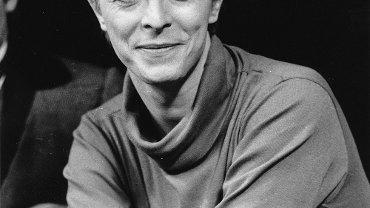 """David Bowie w 1980 roku, próby spektaklu """"The Elephant Man"""" na Broadwayu"""