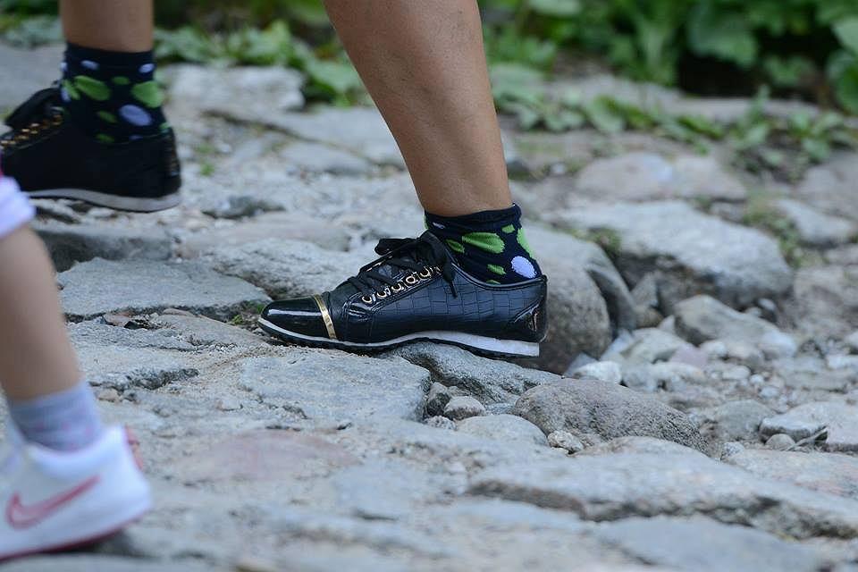 Zdjęcie numer 5 w galerii - Klapki, japonki, sandały. W tym turyści chodzą po Tatrach!