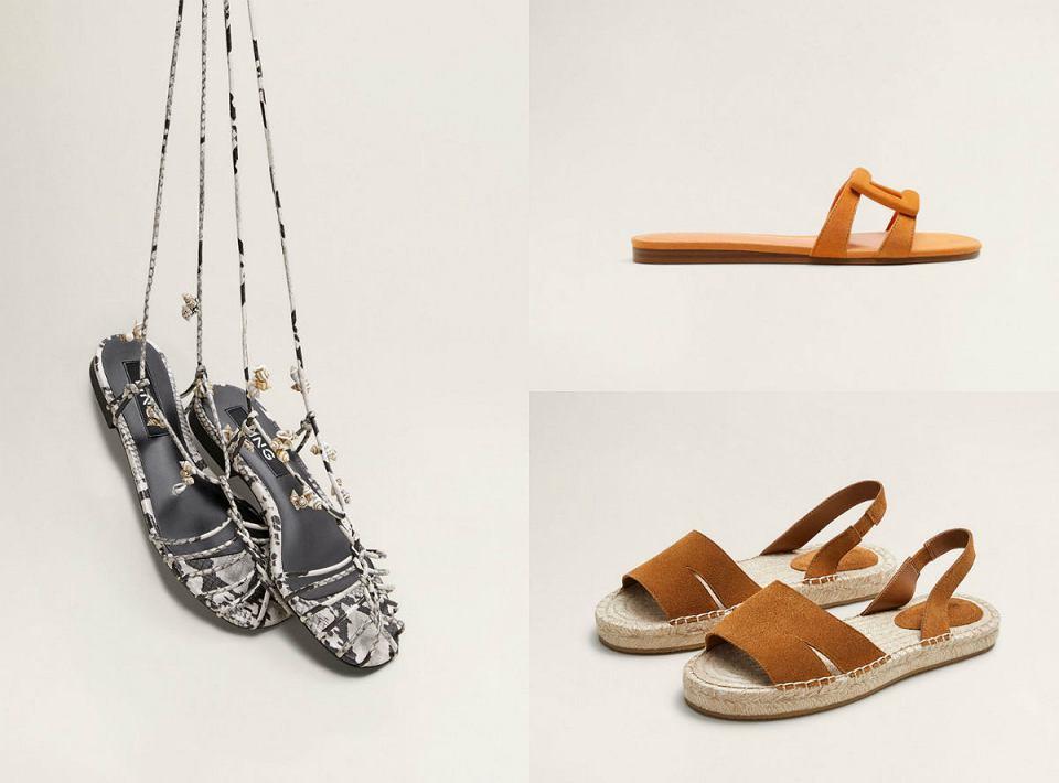 Modne propozycje sandałów i klapków na lato