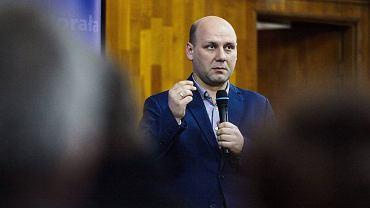 Poseł PiS Szymon Szynkowski vel Sęk