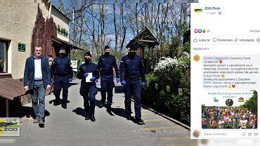 Policjanci z Płocka kupili bilety do zoo dla dzieci