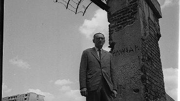 Rok 1967,  Władysław Bartoszewski  na Pawiaku