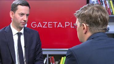 Marcin Ociepa, wiceminister przedsiębiorczości, gościem Gazeta.pl