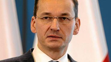 Minister rozwoju i wicepremier Mateusz Morawiecki