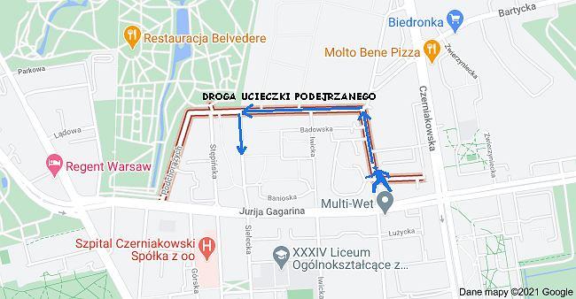 Warszawa. Nożownik na Mokotowie. Policja prosi o pomoc w poszukiwaniach