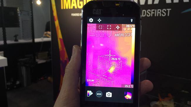MWC 2016: CAT S60 - oto pierwszy smartfon z kamerą termowizyjną
