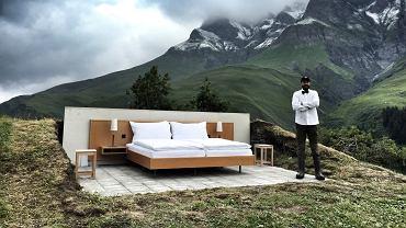 """""""NULL STERN HOTEL"""" w Safiental w Szwajcarii"""