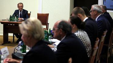Donald Tusk przed Komisja Śledczą ds VAT
