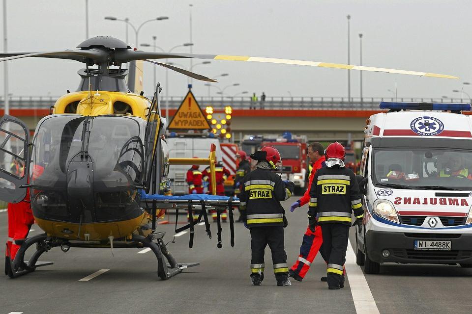 Wypadek na S8 - zdjęcie ilustracyjne
