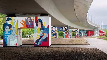 Mural Kobiety Wolności