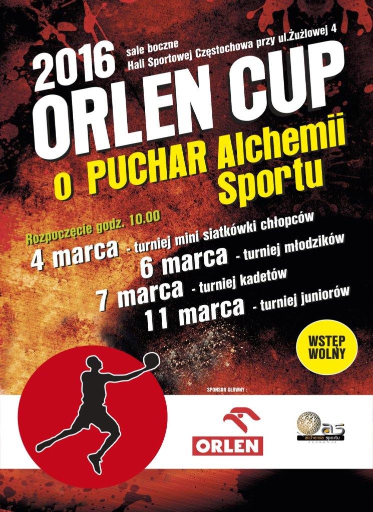 Zaproszenie na turniej Orlen Cup