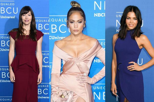 Zdjęcie numer 0 w galerii - Jessica Biel elegancko, Jennifer Lopez - ODWAŻNIE. Ale na gali NBC