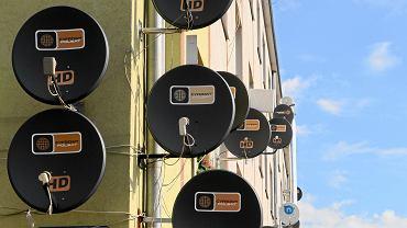 Anteny Cyfrowego Polsatu