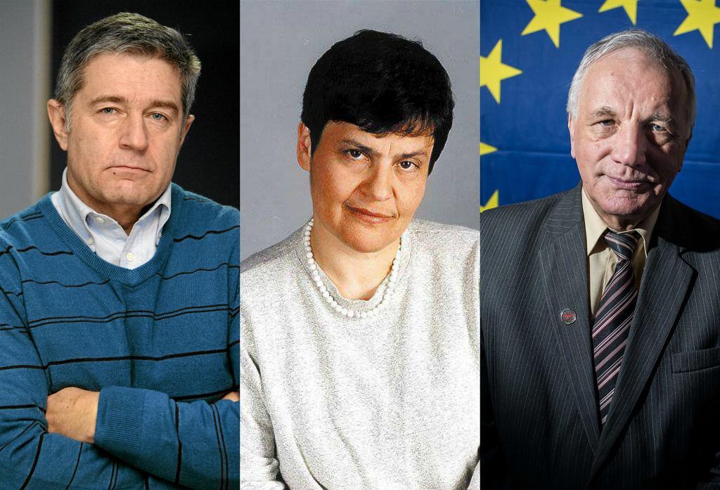 Władysław Frasyniuk, Ewa Milewicz, Jan Rulewski