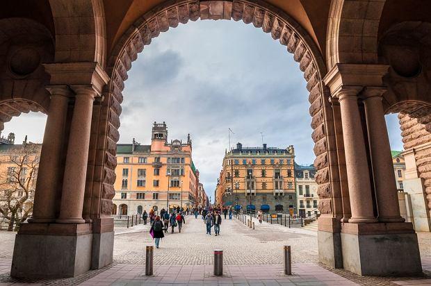 Szwecja Sztokholm - widok od strony Parlamentu / shutterstock