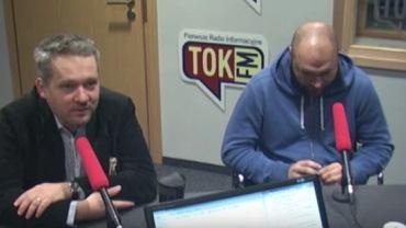 """Michał Szułdrzyński i Zbigniew Parafianowicz w """"Poranku Radia TOK FM"""""""