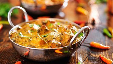 Danie indyjskie z curry
