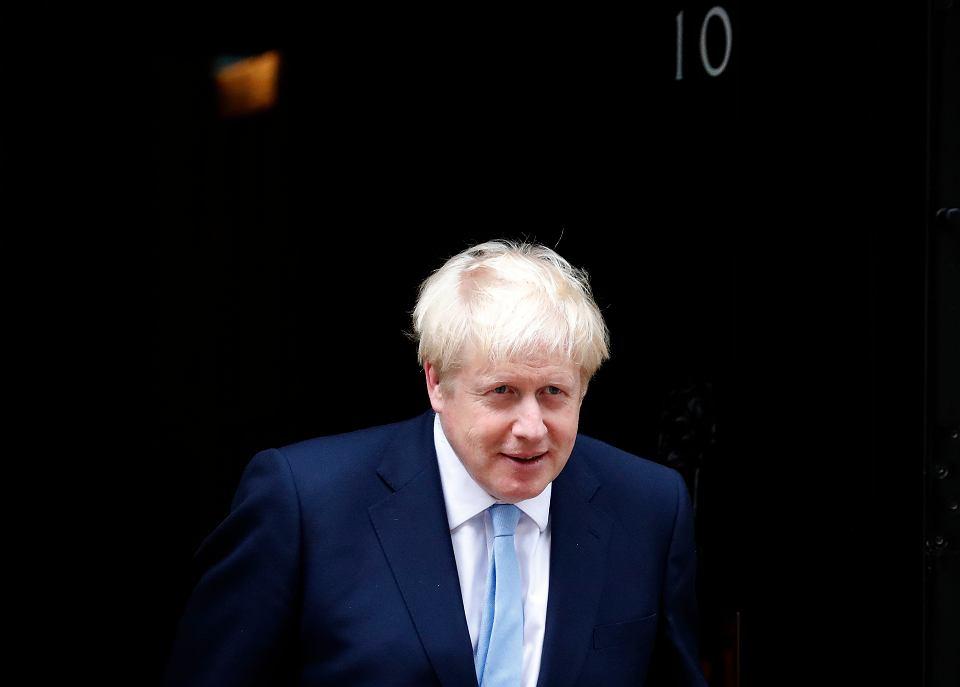 Premier Wielkiej Brytanii Boris Johnson. Londyn, 10 Downing Street, 7 sierpnia 2019