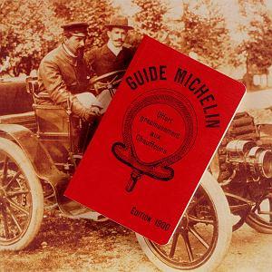 Bracia Edouard i Andre Michelinowie,  pierwszy katalog