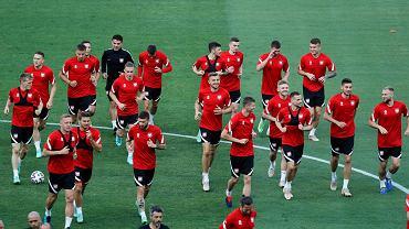 Euro 2020. Polacy trenują przed sobotnim meczem. Spotkanie Hiszpania - Polska odbędzie się w Sewilli