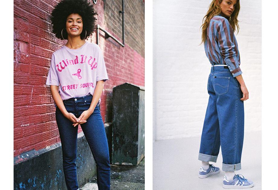 Spodnie Carpenter pojawią się też w damskiej kolekcji Lee na wiosnę 2019