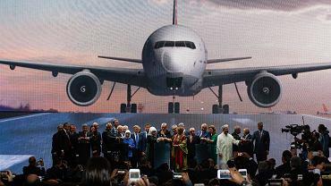 Ceremonia otwarcia nowego wielkiego lotniska w Turcji