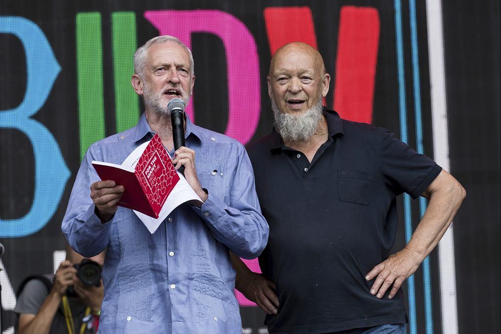 Jeremy Corbyn, Michael Eavis