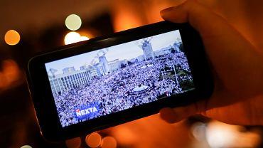 Kanał Nexta w komunikatorze Telegram
