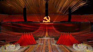 To nie ZSRR. To Chiny. Fragment spektaklu poświęconego stuleciu KPCh