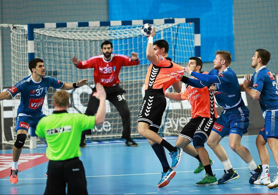Piłka ręczna, Liga Mistrzów. Pierwszy mecz Orlen Wisły Płock z Kadetten Schaffhausen (33:26)