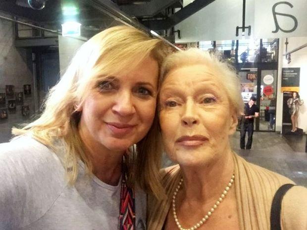 Marzena Rogalska i Beata Tyszkiewicz
