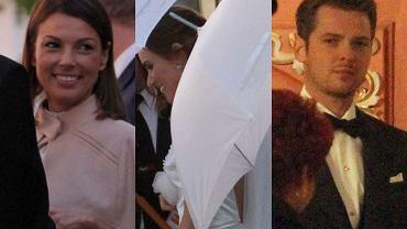 Marta Żmuda Trzebiatowska i Kamil Kula pobrali się. Panna młoda bardzo się starała przemknąć przed fotografami, ale to się na szczęście nie udało. Zobaczcie zdjęcia.