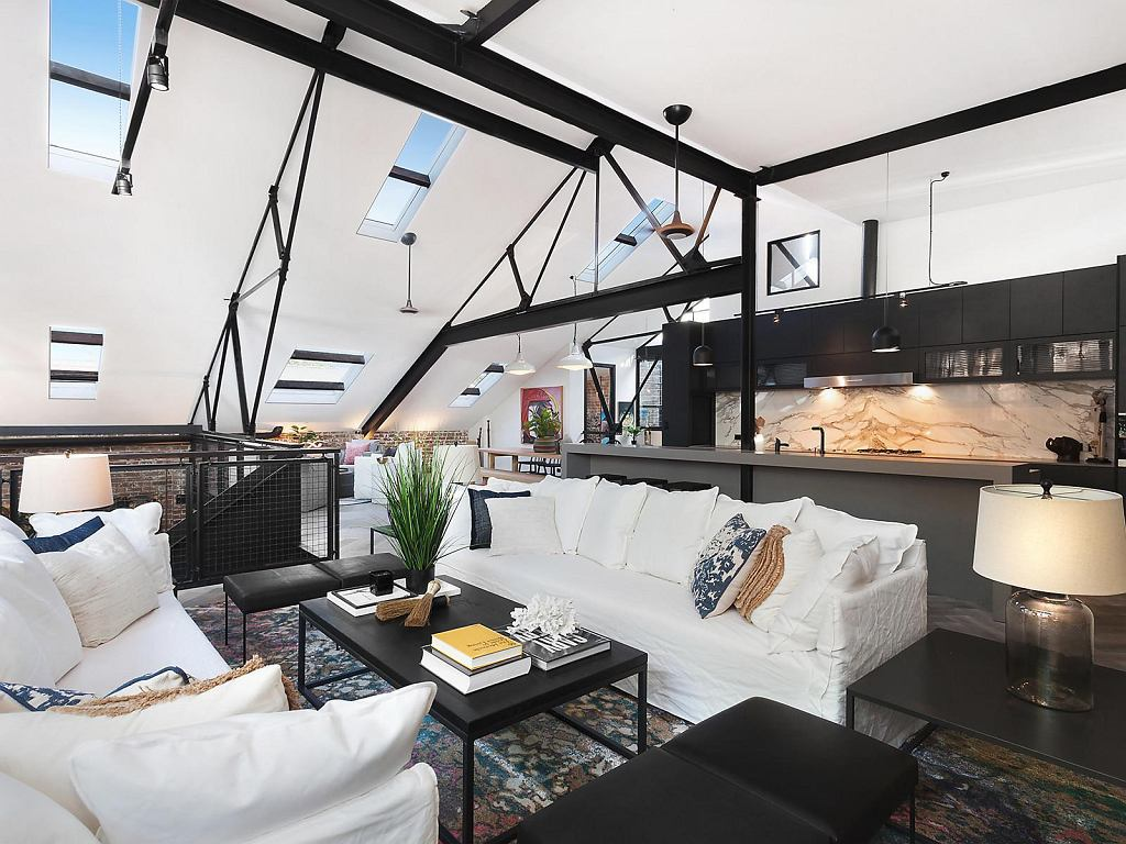 Posiadłość przy 43 Johnston Lane w Sydney