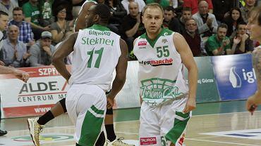 Stelmet Zielona Góra: Łukasz Koszarek i Marcus Ginyard