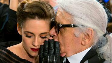 Kristen Stewart, Karl Lagerfeld