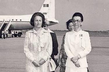 Ludmiła Żiwkowa (po prawej) z Eleną Ceausescu