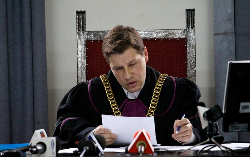 Sędzia Piotr Schab. Warszawa, 12 października 2011