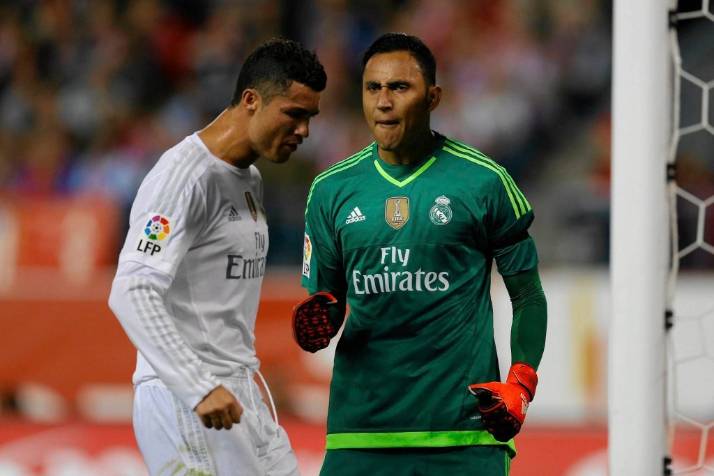 Keylor Navas,Cristiano Ronaldo