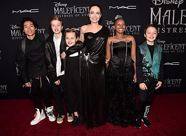 Angelina Jolie na czerwonym dywanie