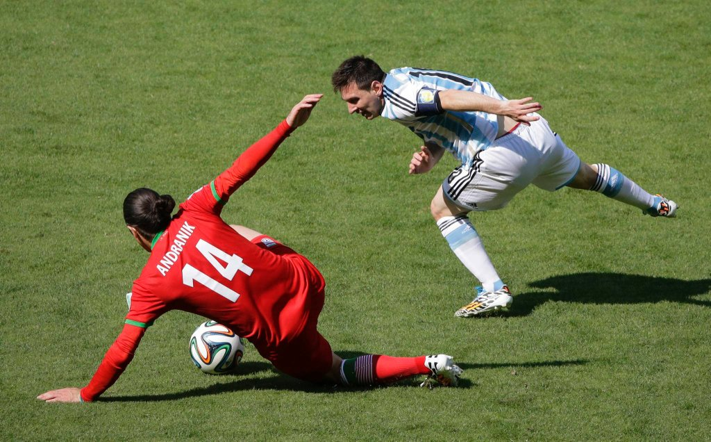 Argentyna - Iran 1:0