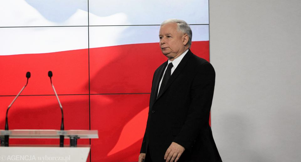 Jarosław Kaczyński twierdzi,że cała sprawa to tylko szykanowanie polskich patriotów