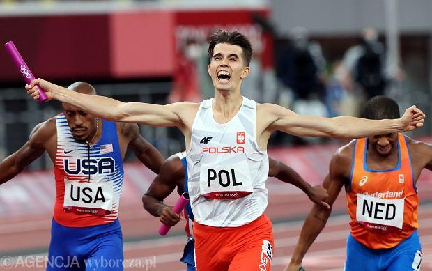 Polska sztafeta mieszana 4x400 m zdobyła złoty medal igrzysk olimpijskich w Tokio. Wspaniali byli wszyscy, ale to, co na ostatniej zmianie zrobił Kajetan Duszyński, to był szok! Kajetano Capitano!