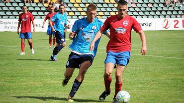 Arkadiusz Jasitczak (błękitna koszulka)