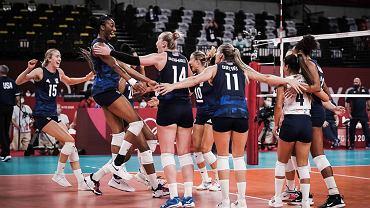 USA, siatkówka kobiet Tokio 2020. Źródło: Twitter