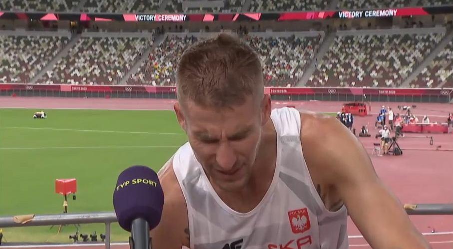 Marcin Lewandowski w rozmowie z TVP Sport