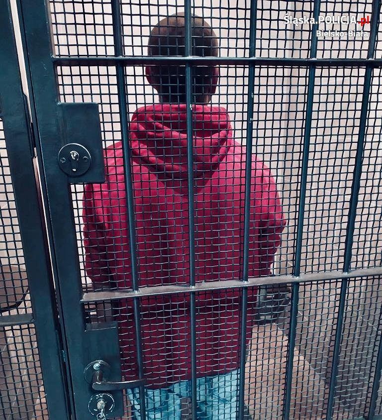 Zatrzymany 33-latek podejrzany o pobicie mężczyzny pod sklepem
